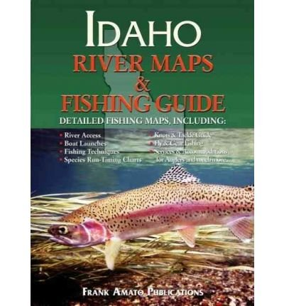 Idaho River Maps & Fishing Guide (Paperback) - Common