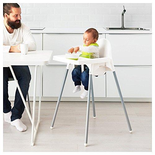 Ikea Kitchen Accessories Uae: Ikea Antilop Highchair With Tray, Safety Belt, White