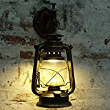 Beyonds Vintage Wall Light Industrial Antique Wall Lamp Fitting Fixtures with Socket for House - Bar - Restaurants - Coffee Shop - Club Decoration(red Bronze)