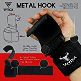 WYOX Power Weight Lifting Training Gym Straps Hook bar Wrist Support Lift Gloves