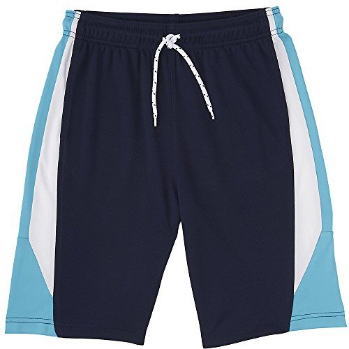 French Toast Little Boys' Active Mesh Short, Navy, 4 French Toast Boys Shorts