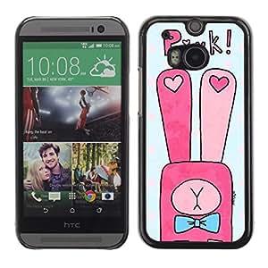 Dragon Case - FOR HTC One M8 - we'll be together - Caja protectora de pl??stico duro de la cubierta Dise?¡Ào Slim Fit