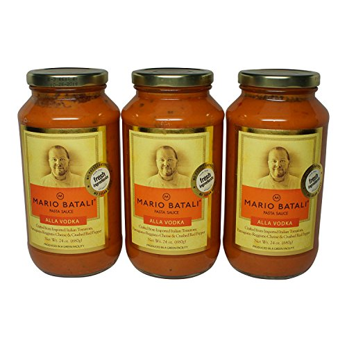 - Mario Batali Alla Vodka Sauce 24 oz (3 Pack)