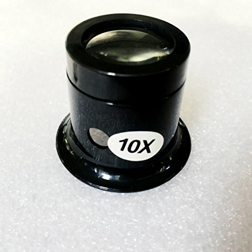 IPurpleBTS Home Accessories 1 Piece Watch Repair Jewelry Appreciation Accessories Magnifying Glass Eyepiece (Color : Random+10X)