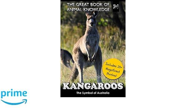 990946f6 Kangaroos: The Symbol of Australia (The Great Book of Animal Knowledge)  (Volume 34): M Martin: 9781548683634: Amazon.com: Books