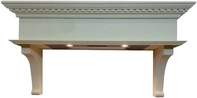 The Wessex 1100 Range - Campana de cocina (1000 a 1100 mm de ancho), incluye potente extractor