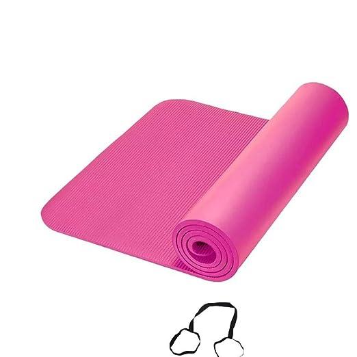 DLJFU - Esterilla De Yoga Estera De Yoga/Antideslizante ...