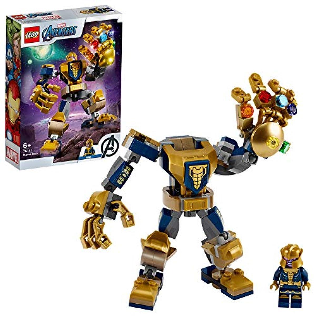 [해외] 레고(LEGO) 슈퍼히어로즈 타노스 맥 로봇 76141