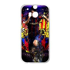 Barcelona HTC One M8 Cell Phone Case White Efjo