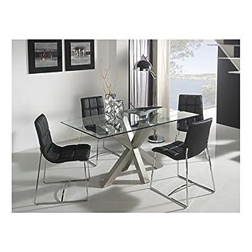 Mesa de comedor diseño original Next - 140x140x75: Amazon.es: Hogar