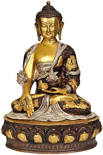 Medicine Buddha – Brass Statue