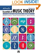 #3: Alfred's Essentials of Music Theory, Complete (Lessons * Ear Training * Workbook)-------------- (CD's Not Included)