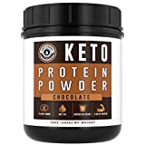 #9: Keto Protein Powder (Chocolate)   Low Carb, High Fat Ketogenic Protein Powder - with MCT Powder & Grass-Fed Collagen   Keto Shake - 25 Servings by Left Coast Performance