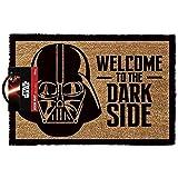OOTB Star Wars GP85033 - Alfombra para puerta La Guerra de las Galaxias Welcome To The Dark Side, color multicolor