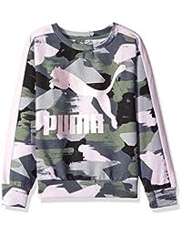 PUMA Girls Girls' Fleece Pullover Sweatshirt