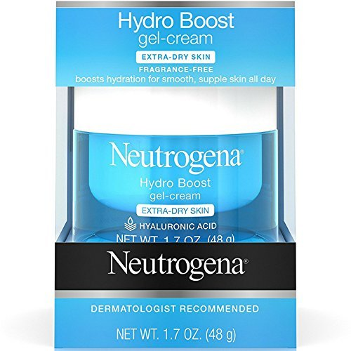 Neutrogena Hydro Boost Gel-Cream, Extra Dry Skin 1.7 oz Hyaluronic Intense Moisture