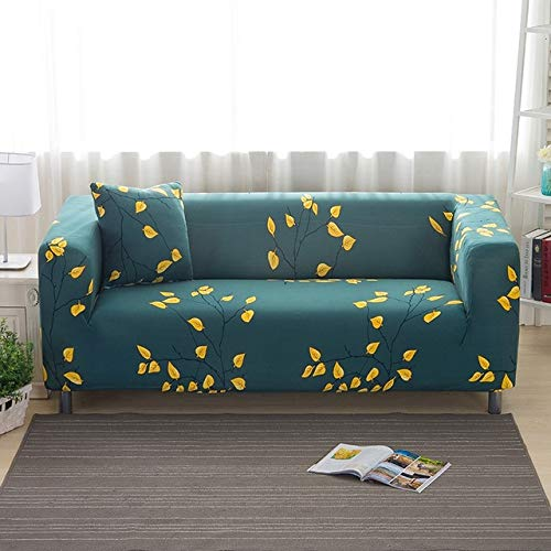 All-Inclusive Sofa Couch Cover Stretch Furniture Slipcover Elastic Slip-Resistant Sofa Cover Single Two Three Four-Seater   12, Four Seater