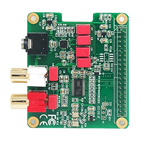 Inno-Maker Raspberry Pi HiFi DAC Module, PCM5122 HiFi DAC Audio Card Expansion Board for Raspberry Pi 3 B+ Pi Zero etc. by Inno-Maker