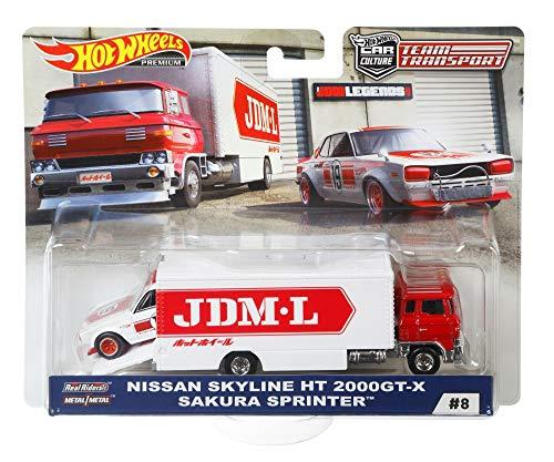 Hot Wheels Team Transport Sakura Sprinter ()