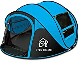 STAR HOME Seconds Pop-up Quick-opening Tents 3-4 Person