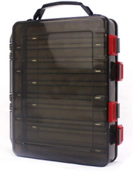 K/öder Angelger/ät Fischk/öder Squid Jig Baits Zubeh/ör Box Shiming Double Sided Tackle Box
