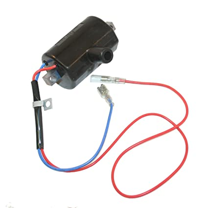 amazon com : ezgo ignition coil (1981-93) marathon 2-cycle engines golf  cart ignitor : golf cart accessories : sports & outdoors