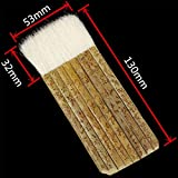 Sheep Hair Hake Brush, Bamboo Handle Hake Blender
