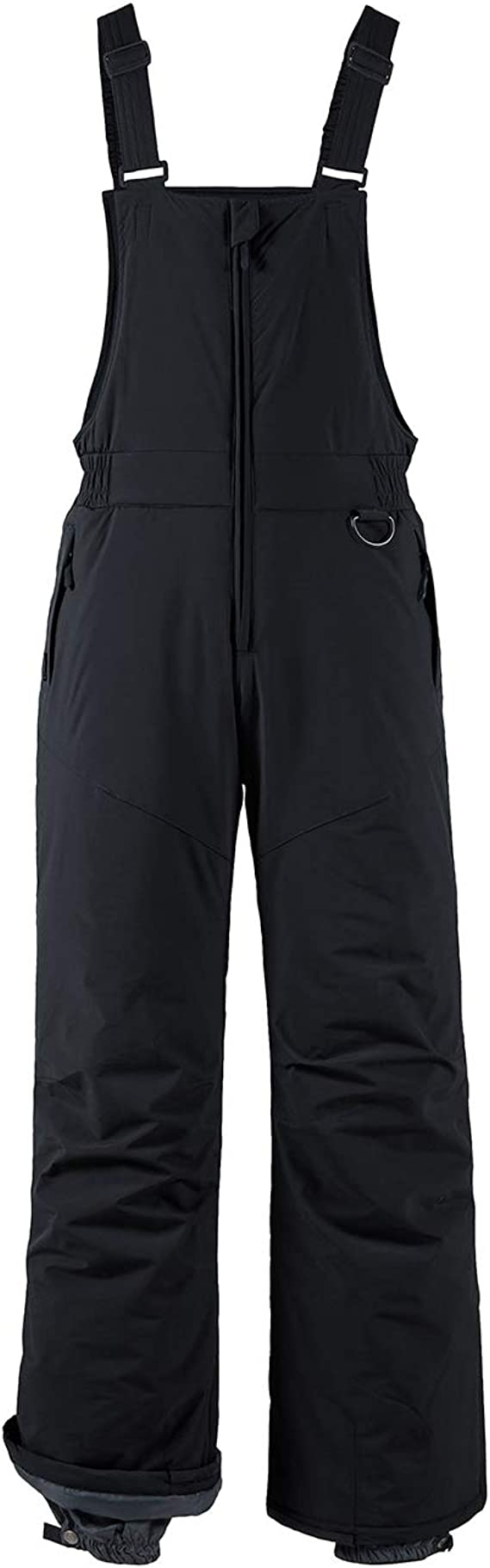 Wantdo Boys Waterproof Skiing Bibs Fleece Lined Snow Pants