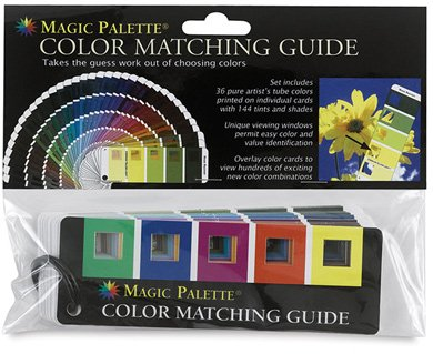 (Magic Palette Color Matching Guide)