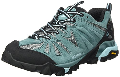 Merrell Women's Capra GTX Low Rise Hiking Boots Green (Sea Pine Sea Pine) H68MC