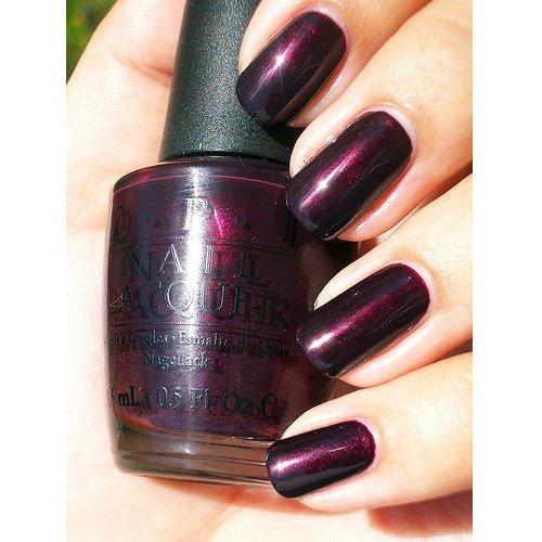 OPI Nail Lacquer - Black Cherry Chutney