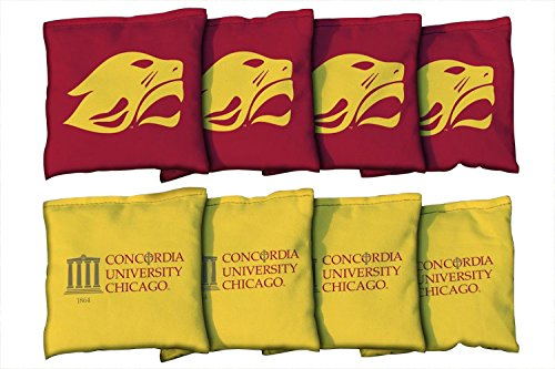 8 Concordia University Cougars Regulation All Weather Cornhole Bags