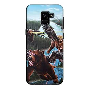 Cover It Up - Flying Bears Galaxy A5 2018 Hard case