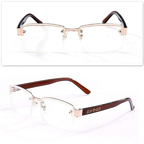 KOMNY Gafas de Lectura Planas de Cristal del Mar de China ...