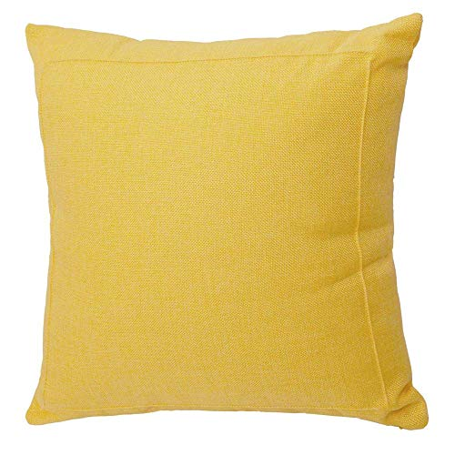 Throw Pillow Case Cushion Cover Farmhouse Decorative Solid Square Pillowcase, Thick, Luxury, Handmade with Invisible Zipper for Sofa Couch Bed (20
