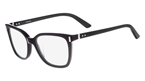 Calvin Klein Collection – CK8528, Schmetterling, Acetat, Damenbrillen, BLACK(001 B ), 53/17/135