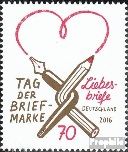 Amazon FRD FRGermany 3259 Complete Issue 2016 Love Letters