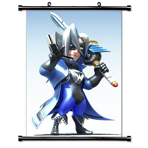 The Wonderful 101 Video Game Fabric Wall Scroll Poster  Inch