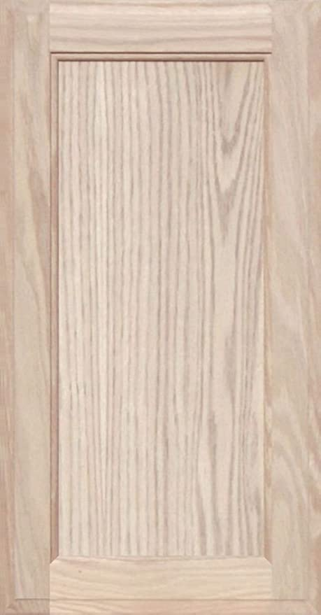 23H x 10W Unfinished Oak Shaker Cabinet Door by Kendor