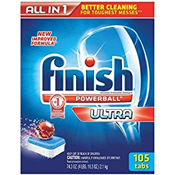 Amazon Com Finish All In One Dishwasher Detergent