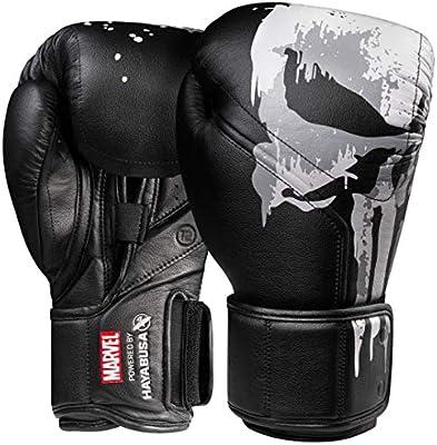 Hayabusa | Guantes de boxeo | Marvel Hero Elite Series, 16oz, The Punisher: Amazon.es: Deportes y aire libre