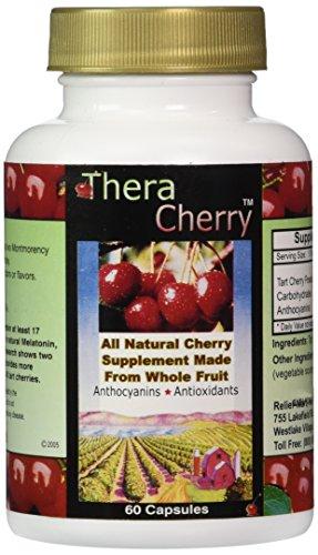 TheraCherry Montmorency Antioxidant Supplement Capsules