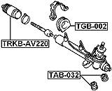 45517-05030 / 4551705030 - Grommet Steering Rack