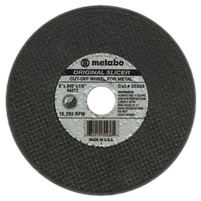 ORIGINAL SLICER Cutting Wheels - 6''x.040x7/8'' type 1 slicer wheel a60tz grit [Set of 10]
