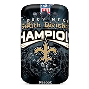 Anti-Scratch Hard Phone Cases For Samsung Galaxy S3 (PEL7028CNoK) Provide Private Custom Fashion New Orleans Saints Image hjbrhga1544