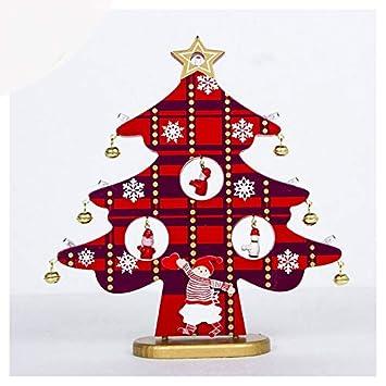 Migvela Illuminazione In Legno Ornamenti Per Alberi Di Natale
