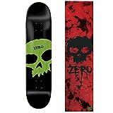 ZERO Skateboard Deck SINGLE SKULL KNOCKOUT 8.125