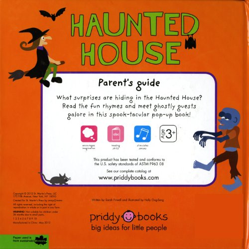 Pop-up Surprise Haunted House: A Seriously Spooky Pop-Up Book (Priddy  Pop-Up)