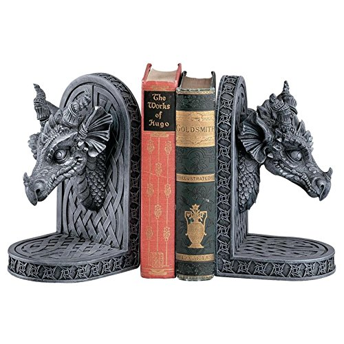 Design Toscano Grey Friar Dragon Gothic Statue Book for sale  Delivered anywhere in USA