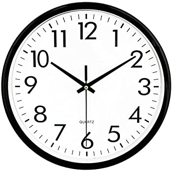 Amazon Com Umexus Silent Wall Clock Non Ticking Outdoor